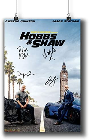- NEW 2019 Fast /& Furious: Hobbs /& Shaw Movie Poster 11x17 13x19
