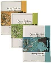 Patent Bar Exam Practice Questions 3-Volume Set