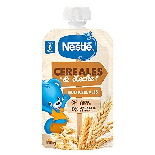 Nestlé Cereales y Leche Multicereales 120g - Pack de 8