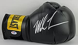 Mike Tyson Authentic Signed Black Boxing Glove Autographed PSA/DNA ITP 2