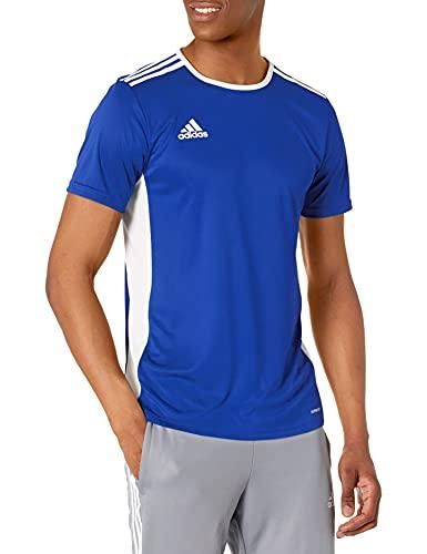 adidas Maillot de Football Entrada 18 pour Homme, Bleu/Blanc, Taille XS