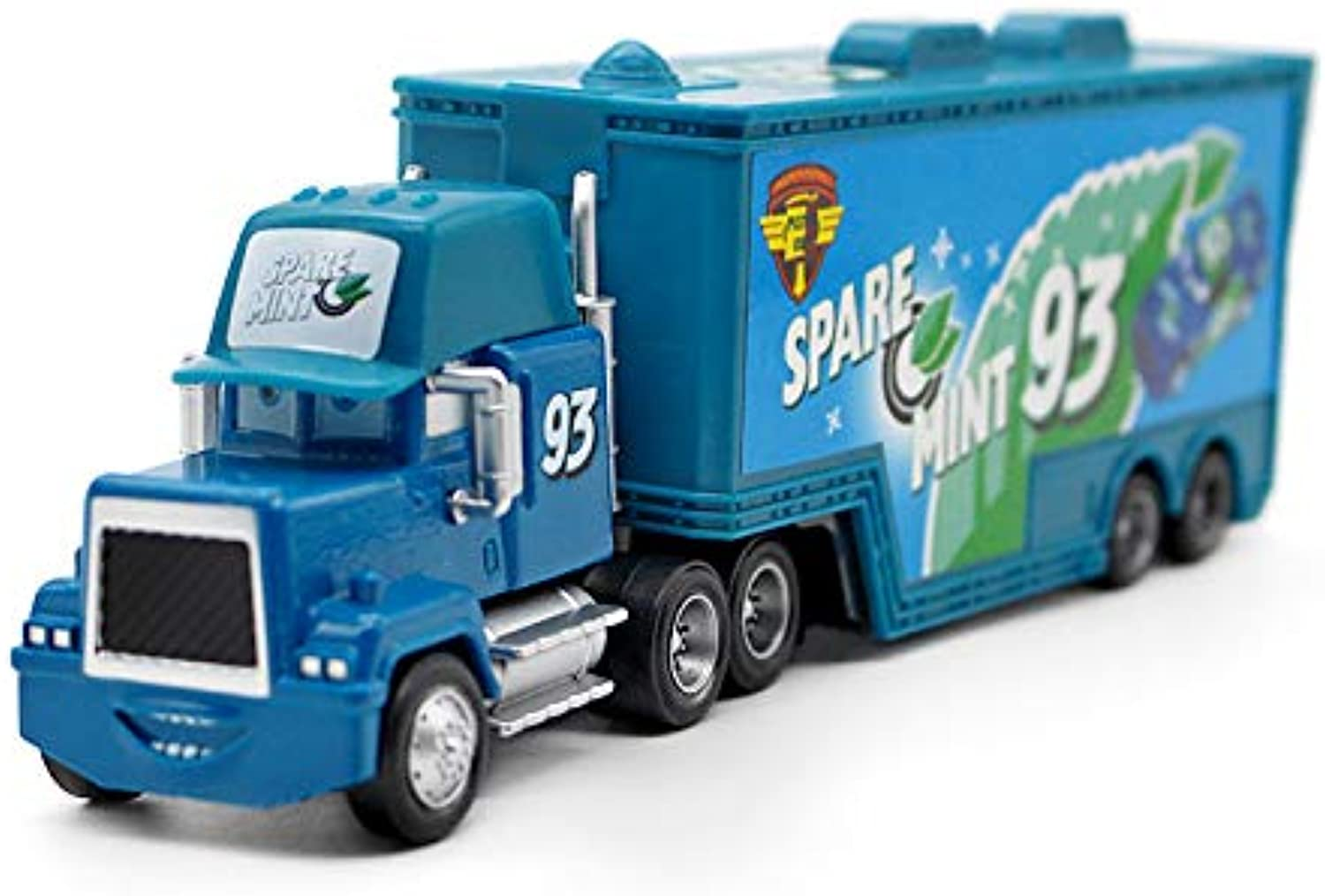 Generic Disney Movie Pixar Cars Lightning McQueen Jackson Storm No.93 Mack Uncle Truck Diecast Alloy Metal Toy Car for Kids Gifts NO 93