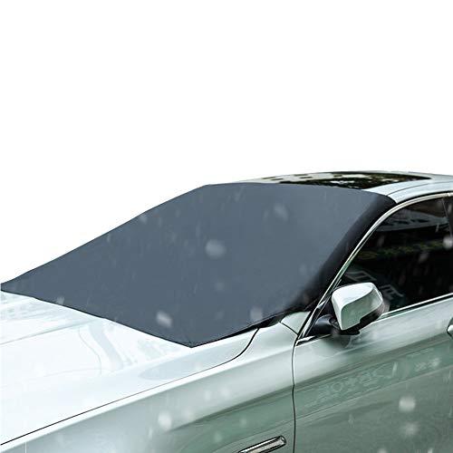 YOUNG4 Auto Windschutzscheibe Schneedecke für Winter Schneeräumung Magnetische Schnee-, EIS- und Frostschutzfolie Passt für SUV, LKW Auto Windschutzscheiben Auto Windschutzscheibe Frostschuts