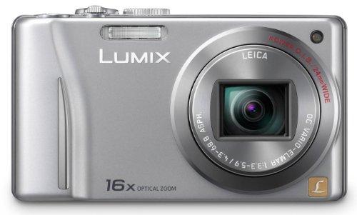 Panasonic Lumix DMC-TZ18EG-S Digitalkamera (14 Megapixel, 16-fach opt. Zoom, 7,5 cm (3 Zoll) Display, bildstabilisiert) silber