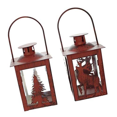 FLAMEER Kerzenhalter Engel Kerzenständer Teelichter Halterungen, Weihnachten Stil