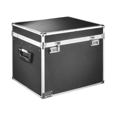 Leitz 67140095 Hängeablage-Box, Aluminium, schwarz