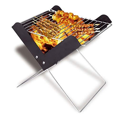 ZFW Barbecue Portable Pliable Grill en Plein Air Léger BBQ Outils pour La Cuisine De Pique-Nique Camping Randonnée La Fabrication est Exquise et Durable