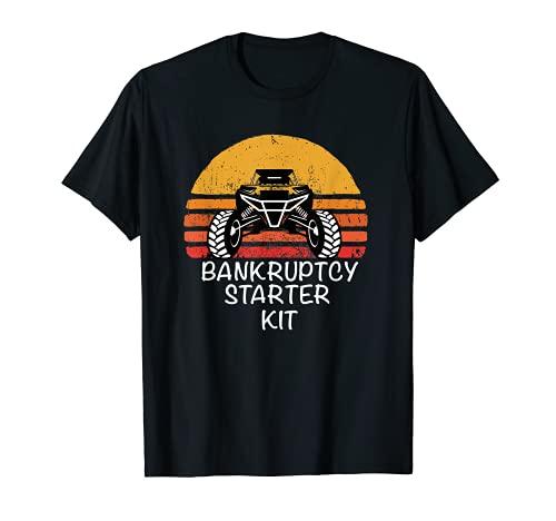 Kit de arranque UTV SXS ATV divertido lado a lado BK Camiseta