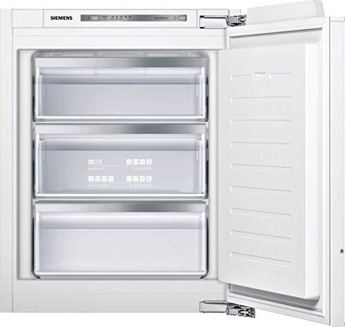 Siemens GI11VAFE0 iQ500 Einbau-Gefrierschrank / E / 167 kWh/Jahr / 72 l / lowFrost / freshSense / softClosing Tür
