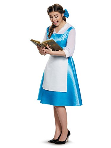 Adult Belle Blue Costume Dress Small