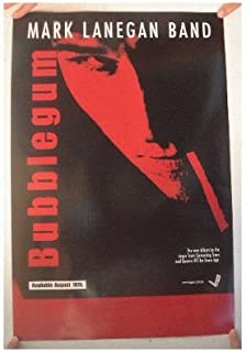 Mark Lanegan Band Poster 'Bubblegum' The Queens of the Stone Age Screaming Trees