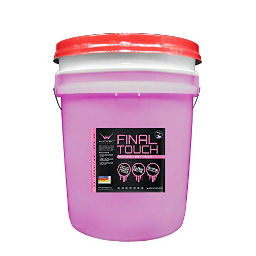 Wicked Products Final Touch Instant Detailer for Professional Detailing & Final Wipe Down Premium USA Made (5 Gallon)
