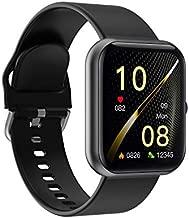 Ideapro Fitness Tracker Watches - Fitness Smart Watch Heart Rate Monitor IP68 Waterproof Digital Watch with Step Calories Sleep Tracker, Smartwatch for Men Women (Black)