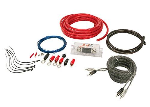 SCOSCHE X2AKC1200 1200 Watt Single Amp Kit