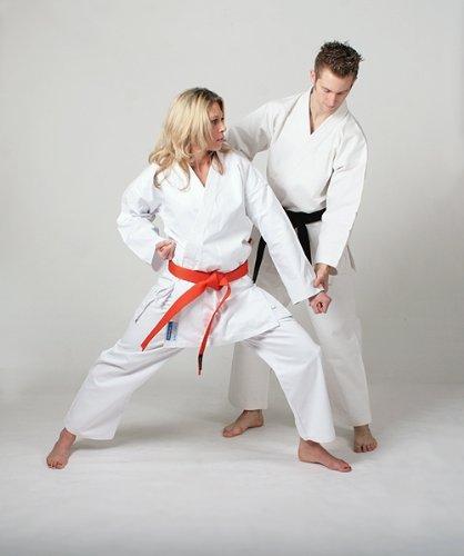 DEPICE - Divisa da Karate, Bianca, Bianco (Bianco), 150 cm