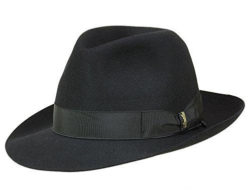 Borsalino Chapeau Fedora N° Art. 114336 Homme - Noir