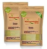 Henna Pulver neutral (2x 500 g) Hennapulver natürliche Haarpflege 1000g 1kg