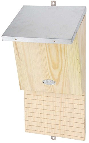 Esschert Design NKVM 7 x 6.5 x 7.9 in. Insulated Bat House