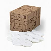 Catit 43748 Triple Action Fountain Filter, voor Catit Kattendrinkfontein, 12 Stuks