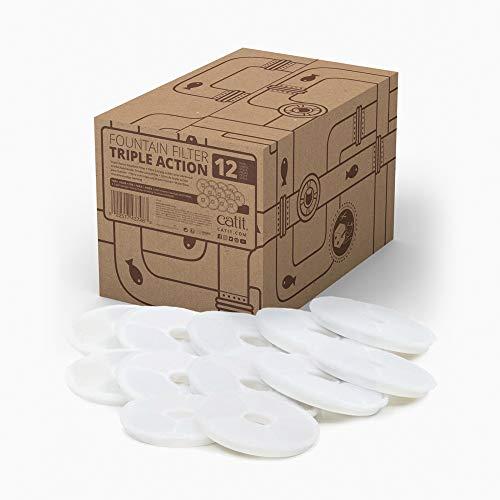 Catit 43748 Triple Action Filter 12er-Set