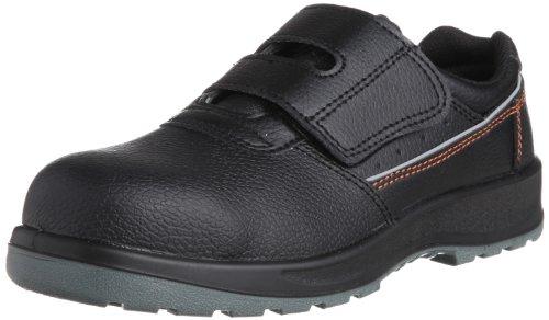 [ミドリ安全] 安全作業靴 JSAA認定 マジックタイプ プロスニーカー DSF02 メンズ ブラック 24.5