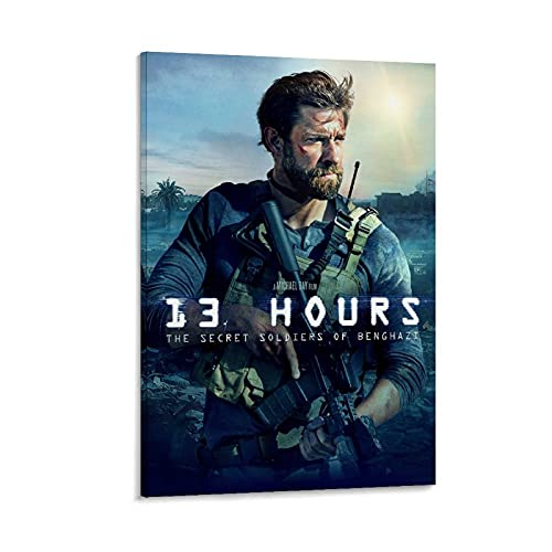 ICICLANE 13 Hours The Secret Soldiers of Benghazi Movie Posters Aesthetic Decor Poster Room Posters Cool Posters Aesthetic 12x18inch(30x45cm)