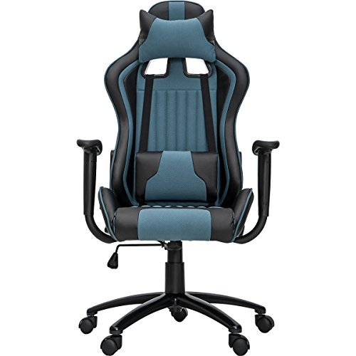 ModernLuxe Odyssey Series Executive Office Gaming Chair with Adjustable Lumbar Support and Headrest...