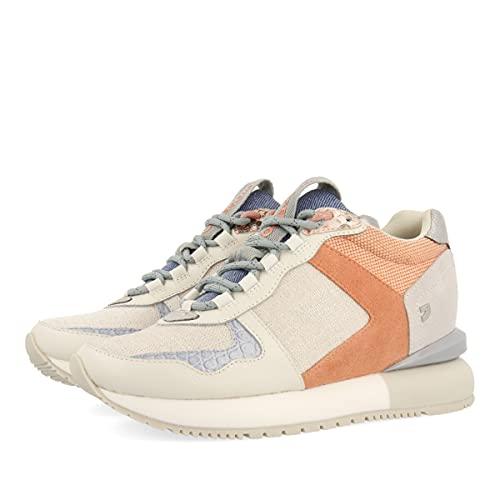 Sneakers Blancas con CUÑA Interna Y Detalles EN Tonos Pastel para Mujer Fairhope