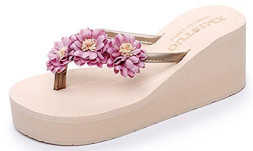 Chanclas Mujer Niña Flip Flops Sandalias Verano Zapatillas Zapatos Playa Piscina Plataforma Gruesa