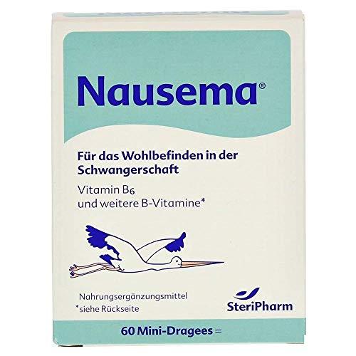 Steripharm Pharmazeutische Produkte Nausema Dragees, 1er Pack (7,5 g)