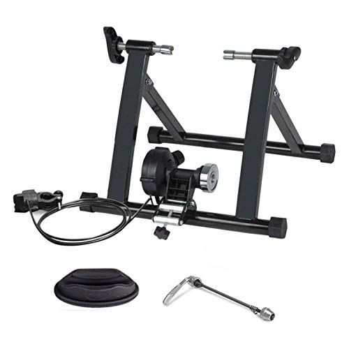 OESFL Équitation à vélo Machine à vélo pliable Calmier Formateur de vélo pliable, entraîneur à rouleaux pliable, triangulaire Traperateur de vélo de vélo Résistance aux fluides Vélo à vélo for 26-29 p