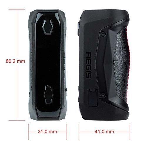 GeekVape Aegis Solo Box Mod (100 W, Riccardo e-Zigarette - Akkuträger schwarz)