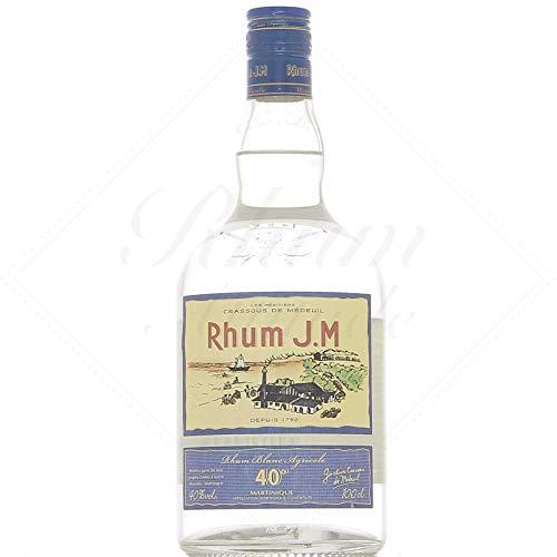 Ron Jm Rhum Blanc Agricole 40% 100 cl