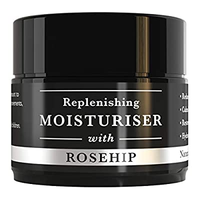 Anti ageing Organic Face Cream with Rosehip Lavender Vitamin E and Apricot for Sensitive Skin Reduces Wrinkles, Boosts Collagen Restores Skin Tone Intensive Moisturiser for deep Hydration 30ml