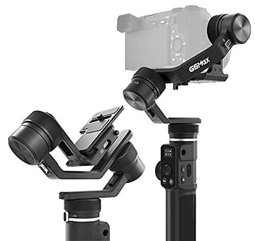 [Oficial] FeiyuTech G6MAX - Estabilizador Todo en uno, 3 Ejes, Universal para teléfonos móviles, cámaras Sony RX0,RX100, A6400,Canon m50, cámaras réflex Digital sin Espejo y,Gopro