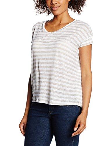 Blaumax - Berlin Stripe, T-shirt Donna, Mehrfarbig (beige stripe 5004), 40 (Taglia produttore: L)