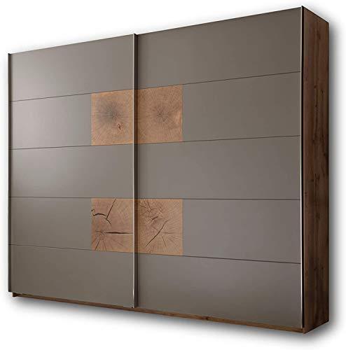 Hochwertige Schränke, Spinde Wildeiche Schlafzimmer Look perfekt für das Schlafzimmer,Brown