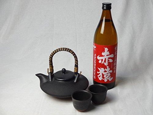黒千代香セット2客ツル付(紫芋の王様使用 赤猿 25度 900ml)