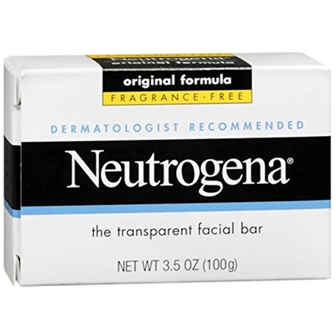 固体取り戻す小道Neutrogena The Transparent Facial Bar/Fragrance-free 100g