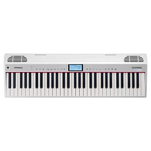 Roland GO:PIANO 61-key Digital Piano Keyboard with Alexa Built-in (GO-61P-A)