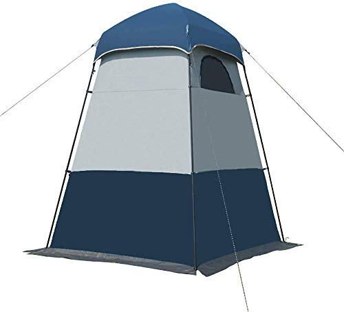 Portable Folding Bathing Tent, Waterproof Sun Shelter Sunscreen Shade Canopy Changing Outdoor Clothes Wild Multifunctional Thickening Lightweight