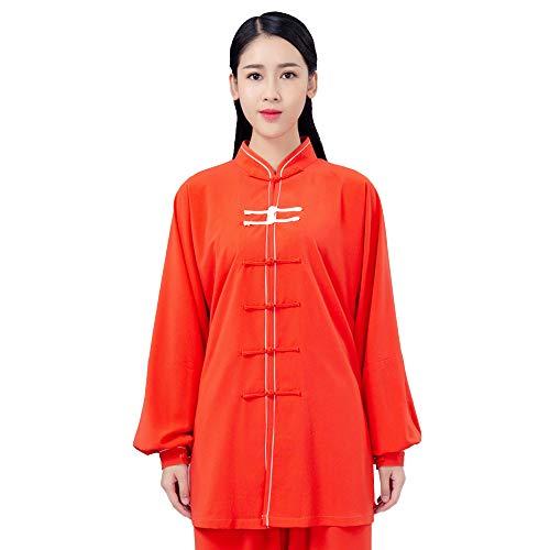 JTKDL Tai Chi Kleding voor mannen en vrouwen, in de lente en zomer, 2 sets Tai Chi Boxen, Performance Pak Qigong kleding