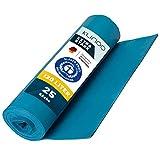 Extra Starke blaue Müllsäcke 120 Liter - Reißfeste Müllbeutel XXL - Typ 100 - Stabile...