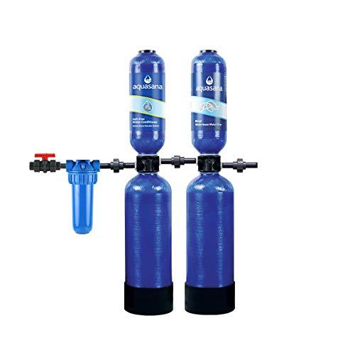 Aquasana Rhino Whole House Water Filtration System (300,000 Gal Plus Water Descaler)