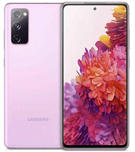 Samsung Galaxy - Smartphone Android S20 FE G780F de 256GB con doble SIM, GSM, desbloqueado, versión internacional (lavanda)