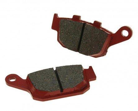 Preisvergleich Produktbild Bremsbeläge organisch - 125 FES 3-7 Panth Baujahr 03-07 (Hinten)