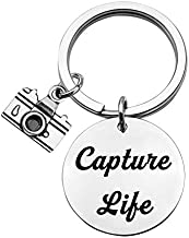 CHOORO Capture Life Bracelet Photographer Gift Camera Charm Bracelet Selfie Lovers Jewelry (Capture Life yp kc)