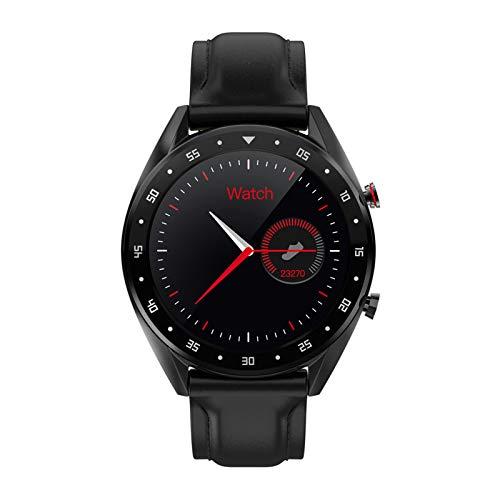 HDSJJD Smartwatch, Visualización De Alta Definición, Frecuencia Cardíaca, Presión Arterial, Monitoreo De Oxígeno En La Sangre, Reloj Deportivo Reloj Impermeable, Compatible con Android, iOS,B