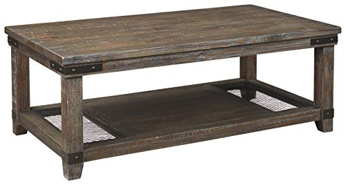 Signature Design by Ashley - Danell Ridge Coffee Table, Brown