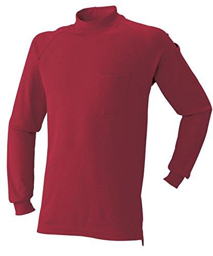 AT:1500-15 長袖ニットハイネックシャツ<br>2016年秋冬!<br>シンプルで合わせやすい!<br>[M 10: レッド]